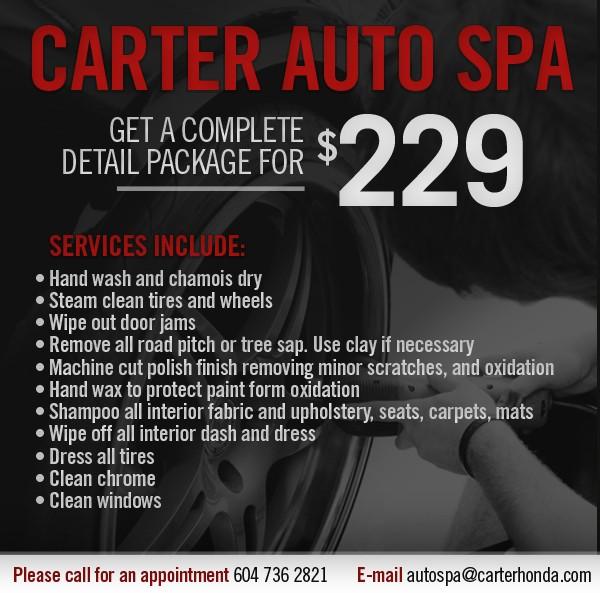 Carter Auto Spa