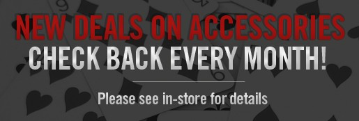 New Deals on Accessories