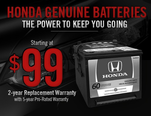 Honda Genuine Batteries