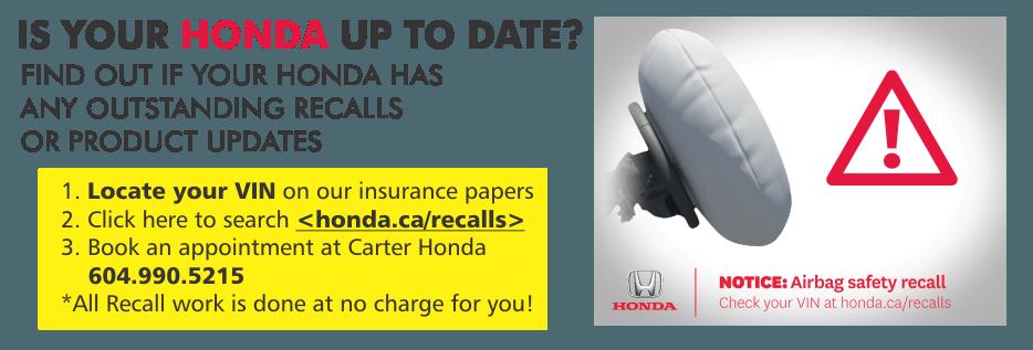 Honda carter granville island