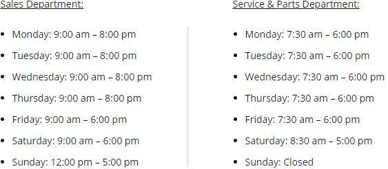 carter-honda-vancouver-hours